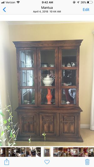 Antique Dining Armoire in excellent condition for Sale in Fairfax, VA