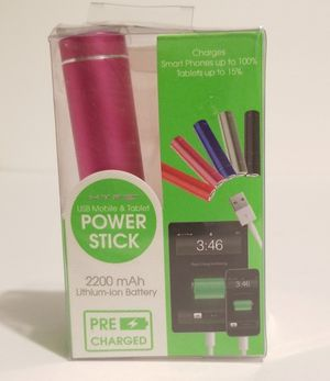 HYPE 2200 mAh Lithium-ion Power Stick for Sale in Chapel Hill, NC
