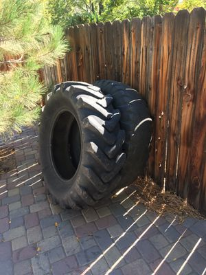 Tractor tires for working out for Sale in Gardnerville, NV