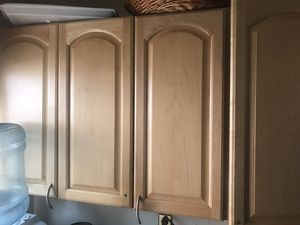 Kitchen cabinets with counter top , microwave, sink and dishwasher for Sale in Willingboro, NJ