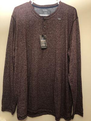 VAN HEUSEN long sleeve never tuck shirt XL for Sale in Tamarac, FL