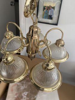 Gold / Brass Light Fixture for Sale in Falls Church,  VA