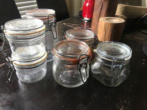 French & Italian Storage / Canning Jars X 6 for Sale in Phoenix, AZ