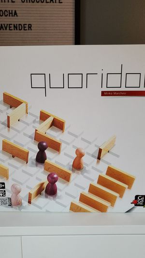 Quoridor - Award- Winning Strategy Board Game for Sale in Herndon, VA