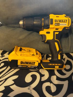 Dewalt 20v xr drill and 20v xr battery for Sale in Morrow, OH