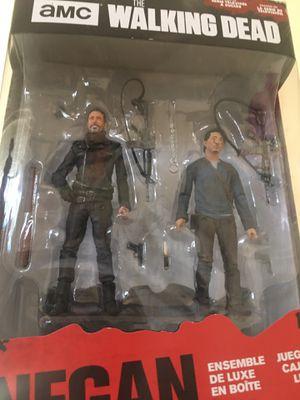 Walking Dead Negan & Glen 2pack for Sale in Costa Mesa, CA