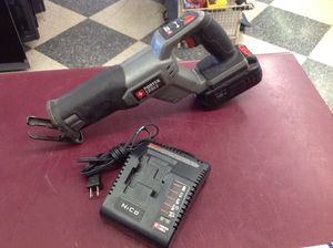 Cordless sawzall porter cable 18v reciprocating saw for Sale in Columbus, OH