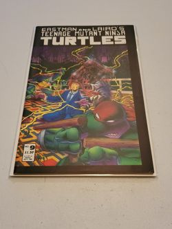 Eastman And Laird's Teenage Mutant Ninja Turtles No. 9 First Print 1986 Mirage Studios, Very Fine+, Splinter, Shredder, Raphael, Leonardo... for Sale in Fresno,  CA