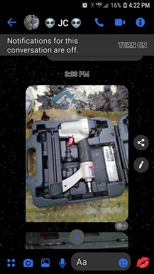 Porter Cable 18 gauge Finishing Nail Gun for Sale in Spartanburg, SC