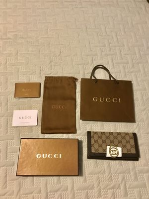 Gucci; women wallet, New for Sale in Lawrenceville, GA