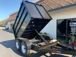Dump Trailer 5x8x4 for Sale in Los Angeles, CA