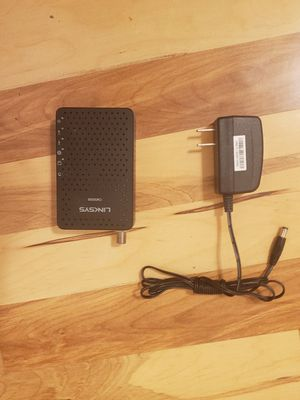 Linksys CM3008 8X4 cable modem for Sale in Santa Fe, NM