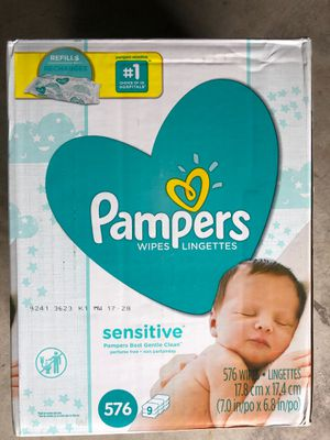 Pampers wipes 576 count for Sale in Chino Hills, CA