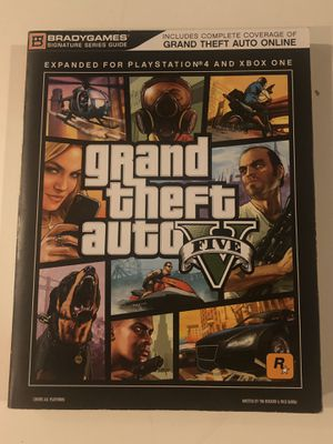 GTA 5 Guide Book for Sale in Irvine, CA
