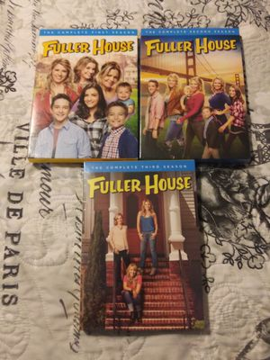 Fuller house season 1-3 never watched for Sale in Streetsboro, OH