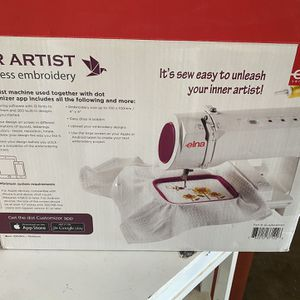 New Wireless Embroidery Machine for Sale in San Diego, CA