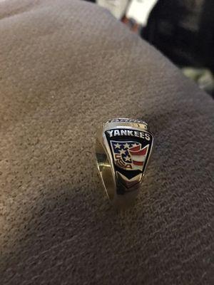 10 karat gold 36 grams Derek jeter Yankees ring. Paid 1400 dollars. Asking 900. Price negotiable. for Sale in Acworth, GA