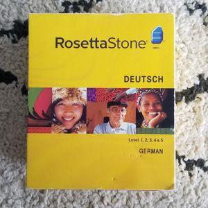 Rosetta Stone: German Level 1-5 V. 3 for Sale in Dania Beach, FL