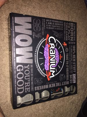Cranium, Wow You're Good Board Game for Sale in Austin, TX