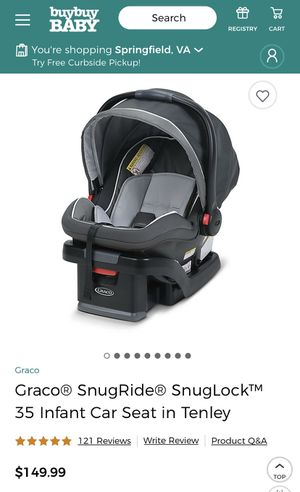 Graco® SnugRide® 35 Infant Car Seat for Sale in Annandale, VA