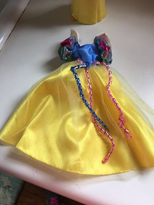 Disney Snow White Doll Dress for Barbie size doll for Sale in Greer, SC