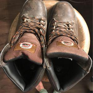 Men's Steel Toe Work Boots OBO for Sale in Boynton Beach, FL