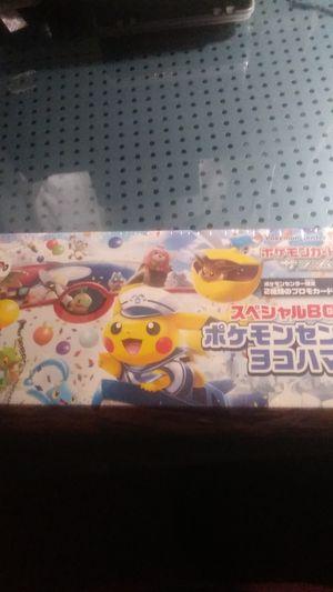 Pokemon cards -Pokemon center promo Yokohama grand opening special box for Sale in Clearwater, FL