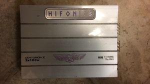 old school ZED MADE hifonics 1 ohm stable cheater amp for Sale in Marengo, OH