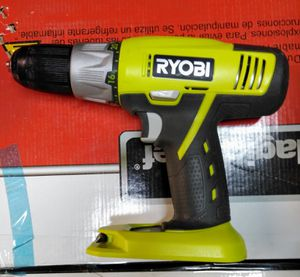"Ryobi Tools P271 18V ONE+ 1/2"" Lithium-Ion 2-Speed Cordless Drill Driver, Bare Tool for Sale in Temple, GA"