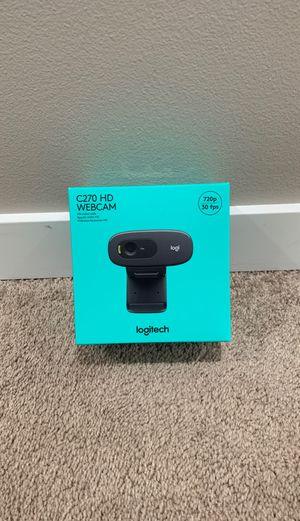 Logitech C270 HD webcam for Sale in Renton, WA