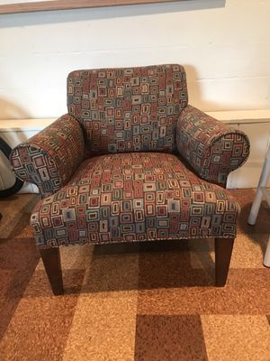 Chairs Set of two and ottoman for Sale in East Wenatchee, WA