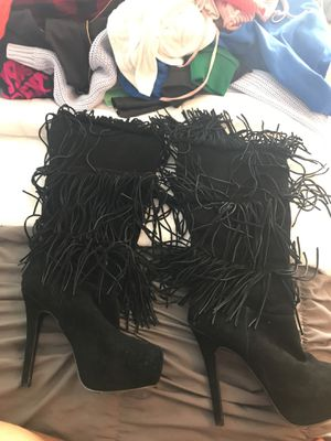 Fringe boots for Sale in Bedford Heights, OH