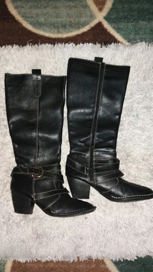 Leather boots like new sz 10 for Sale in Denham Springs, LA