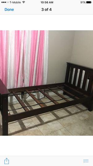 2 wood twin beds for Sale in Phoenix, AZ