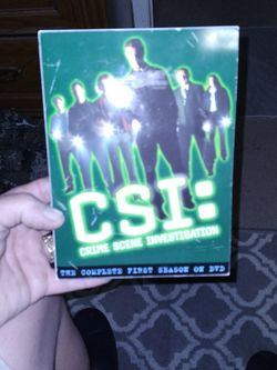 New Dvd Set CSI Complete First Season DVD Set for Sale in Fort Myers,  FL
