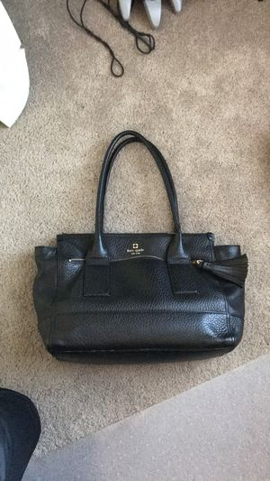 Kate Spade Black Leather Purse for Sale in Germantown, MD