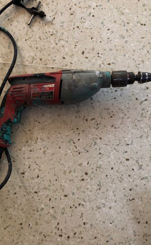 Milwaukee hammer drill for Sale in Nashville, TN