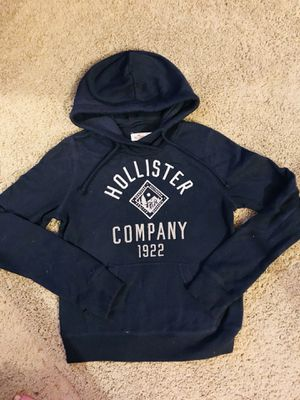 XS Hollister pullover hoodie navy blue for Sale in Virginia Beach, VA