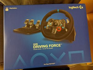Logitech G29 racing wheel PS4 - New for Sale in Lakewood, CA