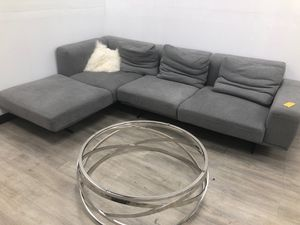 Grey couch for Sale in Los Angeles, CA