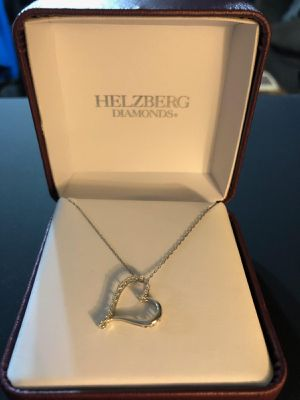 Kay Jewelers Helzberg Diamonds Heart Shaped Diamond Necklace for Sale in Denver, CO