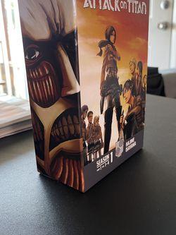 Attack on Titan Season 1 Part 1 Vol. 1-4 for Sale in Casselberry,  FL