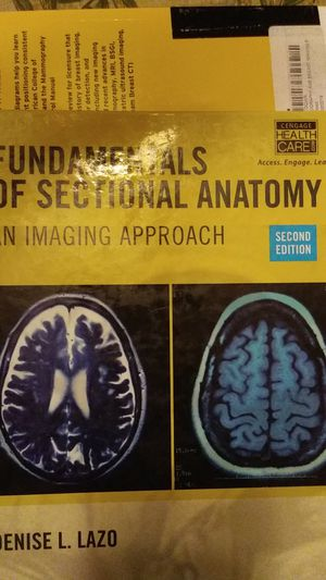 Fundamentals of Sectional Anatomy, 2nd ed. for Sale in HILLTOP MALL, CA