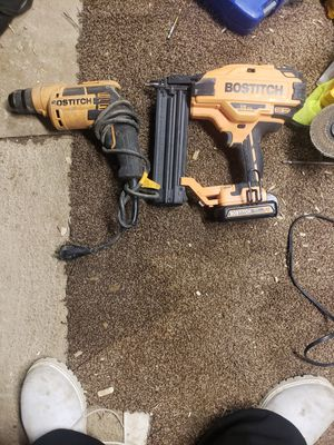 Nail gun and drill 125 both for Sale in Columbus, OH