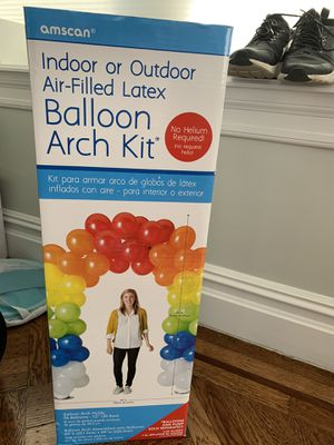 Balloon Arch Kit with Electric Balloon Pump for Sale in Oceanside, NY