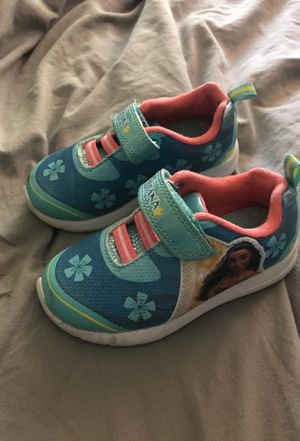 Moana Toddler shoes 7c for Sale in San Leandro, CA
