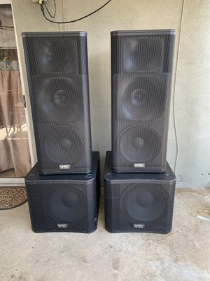 QSC Speakers for Sale in Los Angeles, CA