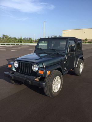 2005 Jeep Wrangler X (TJ) for Sale in Miami, FL