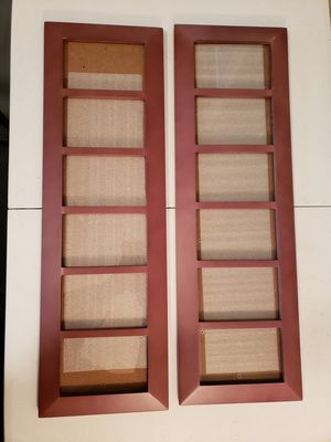 Pair of Wooden Hanging Picture Frames for Sale in Gresham, OR