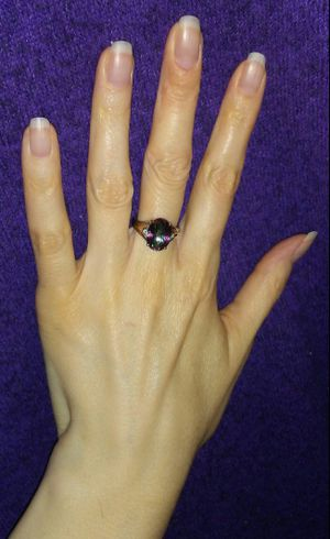 Stunning NEW Alexandrite Colored Genuine Mystic Topaz Diamond 14k & Sterling Silver Ring!!! for Sale in Vancouver, WA